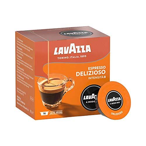 Lavazza A Modo Mio Espresso Delizioso, 1 x 16 Kapseln, 1er Pack