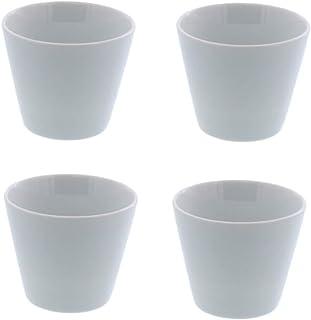 テーブルウェアイースト Style マルチカップ クリアホワイト 4個セット そば猪口 コップ 食器セット