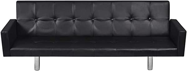 Zhihuitong Modern Contemporary Leather Sofa Bed Wooden Frame Reclining Sectional Sofa With Armrest Iron Legs Black