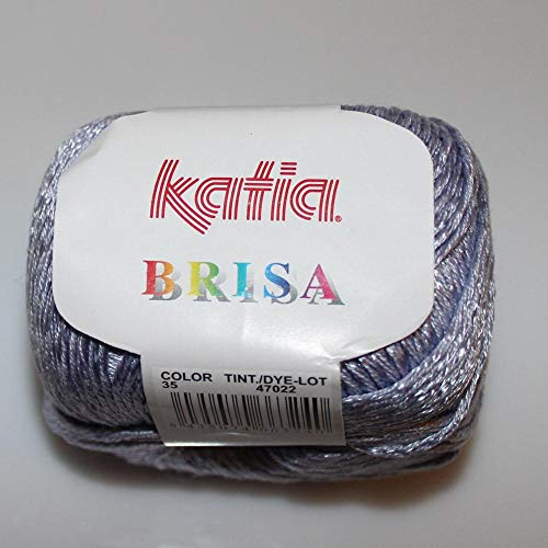 Lanas Katia Brisa Ovillo de Color azafata Cod. 35
