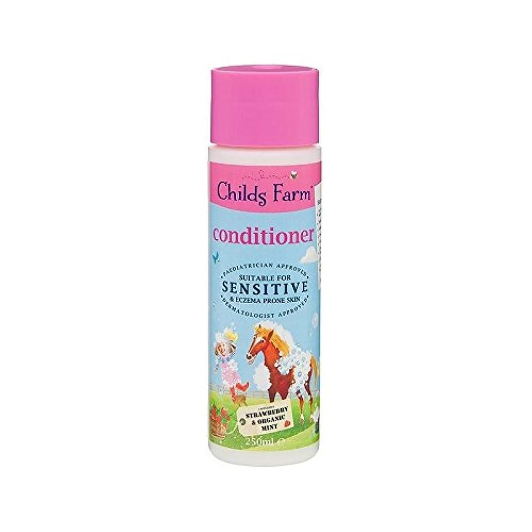 地味な疼痛博覧会そのたてがみを飼いならします!手に負えない髪の250ミリリットルのためのコンディショナー (Childs Farm) (x 4) - Childs Farm Tame That Mane! Conditioner for Unruly Hair 250ml (Pack of 4) [並行輸入品]