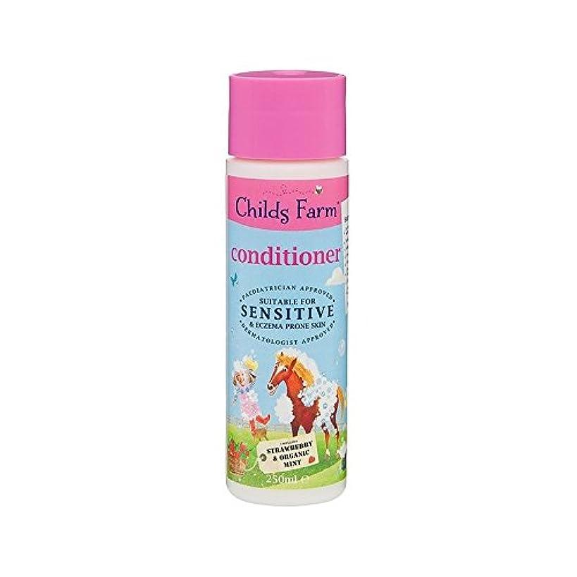 毒性著作権ホイッスルそのたてがみを飼いならします!手に負えない髪の250ミリリットルのためのコンディショナー (Childs Farm) (x 6) - Childs Farm Tame That Mane! Conditioner for Unruly Hair 250ml (Pack of 6) [並行輸入品]