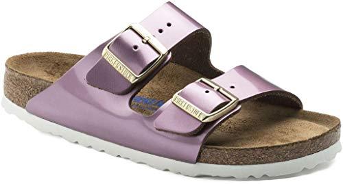 BIRKENSTOCK Pantolette Arizona Speculum pink 1011430, Größe + Weite:38 schmal, Farben:Speculum pink