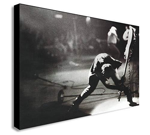 Print op Canvas Londen bellen Canvas Wall Art Prints afbeelding Artwork schilderij voor woonkamer moderne Home Decor foto 60x80cm (23,6x31,5 inch) geen Frame