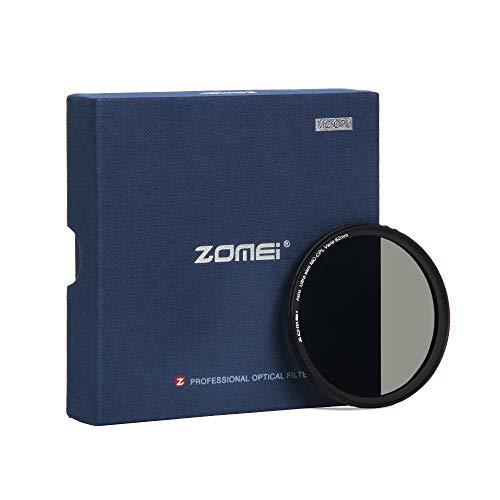 ZOMEi 62mm Premium CPL Pol Filter für eine hohe Bildqualität – Polfilter für eine klare Entspiegelung Ihrer Aufnahmen - Zirkularer Polarisationsfilter