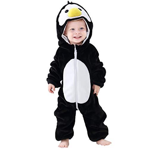 MRULIC Neugeborenes Baby Jumpsuit Outfit Dinosaurier Reißverschluss mit Kapuze Spielanzug Overall Outfit Kleidung Niedlicher Babyschlafsack Onesies Herbst und Wintermodelle(A-Grün,65-70CM)