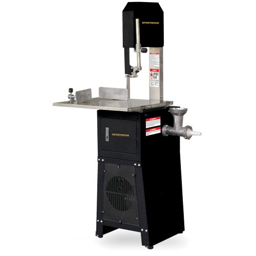 Sportsman Series Meat Cutting Band Saw with Grinder