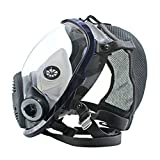 Lightweight Full Face Chemical mask Anti-Gas Mask Acid Dust Respirator Paint Pesticide Spray...