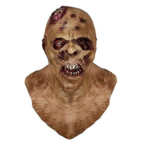 SXZX Mscara De Terror Mscara De Zombi Traje De Mscara De Monstruo Bioqumico De Ltex para Fiesta De Disfraces Halloween
