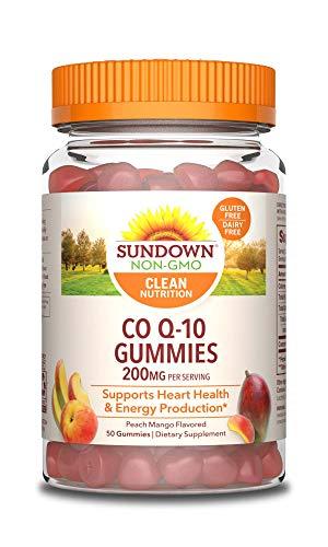 Sundown Naturals CoQ10 200 mg 50 Gummies