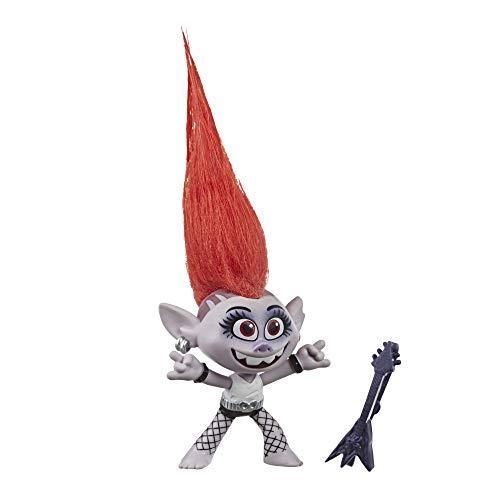 Hasbro DreamWorks Trolls World Tour Barb, Puppe mit Gitarre, Spielzeug zum Film Trolls World Tour