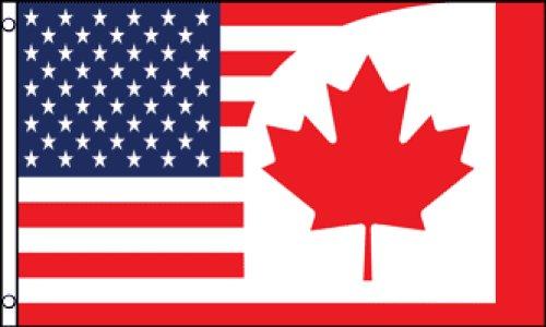us canada flag - 4
