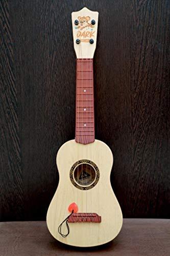 "VED ENTERPRICE 4-String 24"" Acoustic Guitar Kids Toy, Brown"