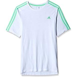 Customer reviews adidas Boys Junior Boys Essential T-Shirt in White - 11-12:Dailyvideo