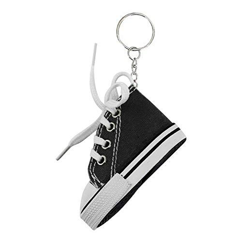 Schlüsselanhänger aus Segeltuch, 5 Stück, kreativ, bunte Schuhe, Motorradhalterung, Matte, Pad, für Damen und Herren, Souvenir, Geburtstagsgeschenk, F