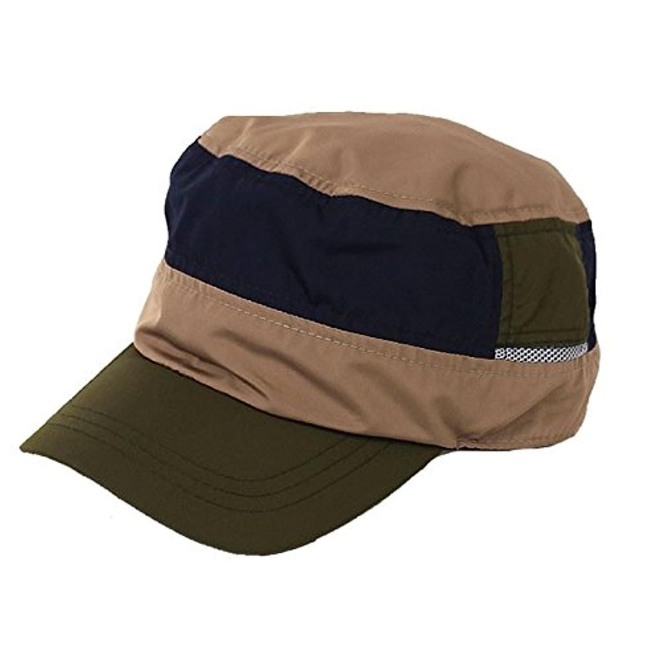 待つ競合他社選手巡礼者レインキャップ ワークキャップ 撥水加工 ゴルフ 帽子 メンズ レディース BCH-30086M