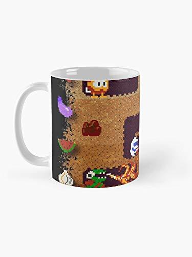 Taza de café con diseño artístico de Dug Dig de 325 ml