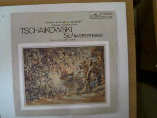 2 Platten: Tschaikowski - Schwanensee (Ausschnitte aus dem Ballett), Mozart - Eine kleine Nachtmusik/ Tschaikowsky - Nußknacker-Suite,