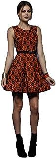 Honey & Beau - Pokahontas Skater Dress (HD52128 - Orange Size 8)