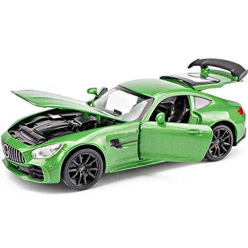 Xuping shop Mercedes-Benz Auto Modellautos 01.32 AMGGTR Spielzeugauto Sammlung von Schmuck Ornamente 15x6.7x4.6CM