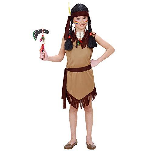 Costume da Squaw 'Indiana', Taglia 5/7 Anni