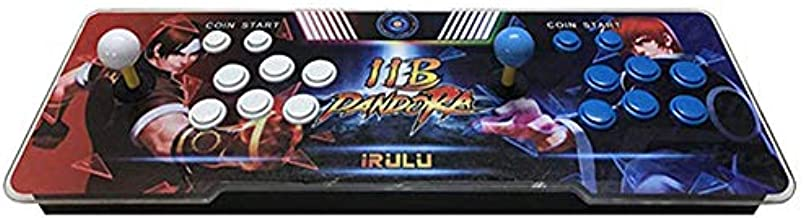iRULU 3399 Arcade Games Machine, Family Pandora Box Retro Toy Arcade Games Machines for Home,Video Games Console with HDMI/VGA/USB for PC,TV,PS3,Games Classification,Home Entertainment