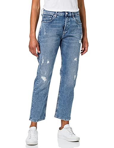 REPLAY Leony 573 Bio Jeans, 010 Azul Claro, 28 para Mujer