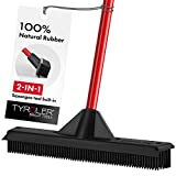 Tyroler Bright Tools Scopa in Gomma Impermeabile/Tergipavimento 33 cm – Setole in Gomma-...