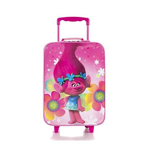 Heys Trolls Brand New Classic Designed Kids Basic Soft Side Luggage 17 Inch