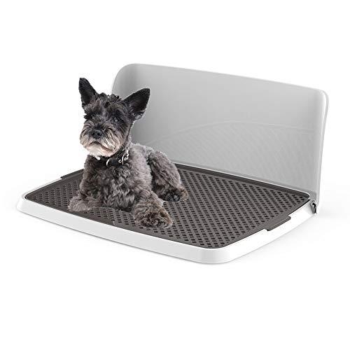 RTVZ Huisdier Toilet Hond Toilet Training Potty Tray Urinal Toilet Trainer - Siding Design, Geschikt voor kleine en middelgrote honden, Katten (63x49x28cm)