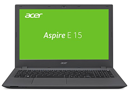 Acer Aspire E 15 (E5-574G-7934) 39,6 cm (15,6 Zoll) HD Laptop (matt) (Intel Core i7-6500U, 4 GB RAM, 1000 GB HDD, DVD, NVIDIA GeForce 940M (2 GB DDR3 VRAM), Win 10 Home) schwarz