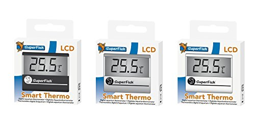 SuperFish Smart Aquarium LCD Thermometer, Farbe:weiß