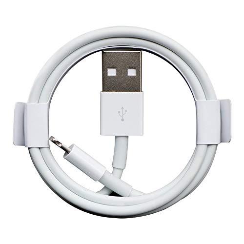 KAZOKUYiZi Cable de Cargador - [Teléfono Certified] 3.3FT / 1M Teléfono de Alta Velocidad Cable de Cable USB Cable de Carga rápida para teléfono 11 XS MAX X XR 8 7 6S 6 Plus SE 5 5S 5C, iPad, iPod