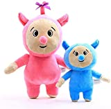 2 PCS/Set Baby TV Billy and Bam Bam Lovely Soft Stuffed Toys Plush 10.6''(27cm) and 7.8''(20cm) Figures Doll Cuddly Children Gift for Kids