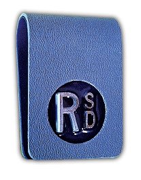 X-Ray Markers, Clipper Style - Thin, 2-3 Initials, L & R 3/4