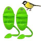 2 unids pájaro cuttlebone titular con percas de plástico Cuddle hueso alimentación estantes loro jaula soportes accesorios para