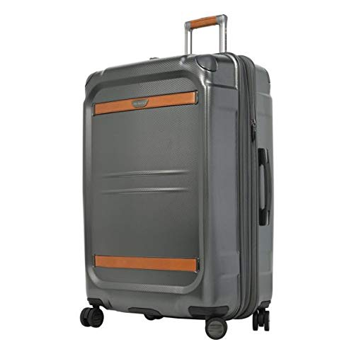 Ricardo Beverly Hills Ocean Drive 29-Inch Spinner Upright Suitcases, Silver