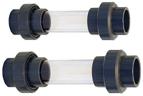 AquaForte Sichtglas, mit 3/3-Kupplung 50 mm