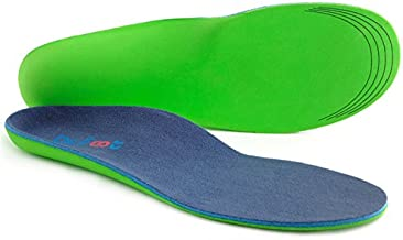 Dr. Foot's Plantar Fasciitis Insoles - Shoe Inserts for Foot & Heel Pain and Over-Pronation, Diabetic Anti-Sweat Foam for Comfort & Relief - M