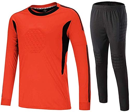 Hcxbb-17 Voetbalspel keeperset keeperset pak met lange mouwen team keeper jersey pak sneldrogend gekleed compressiebeschermende legging