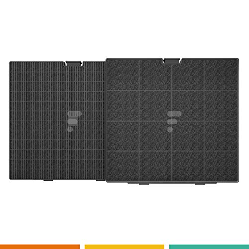 Kohlefilter/Aktivkohlefilter für Dunstabzugshaube FC25 - passend für Electrolux CA240S / AEG 9029793693 / BEST CA240S / AFC9003W / broan/teka/Wpro CHF007 / Candy TYP.D241