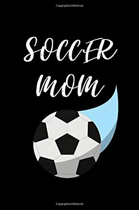 著者ドリンク経験的Soccer Mom: Small Soccer Notebook/Journal 6inX9in A5 120 pages Wide lined