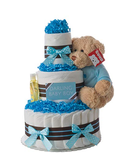 Diaper Cake - Darling Boy...