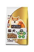 ベストバランス カリカリ仕立て 柴犬用 成犬用 チキン・野菜・小魚・玄米入り 1.2kg