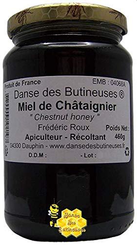 Miel de Châtaignier Pot de 460g / DIRECT PRODUCTEUR / Produit de France.