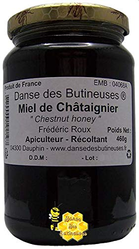 Miel de Châtaignier Pot de 460g / DIRECT PRODUCTEUR / Produit de France.