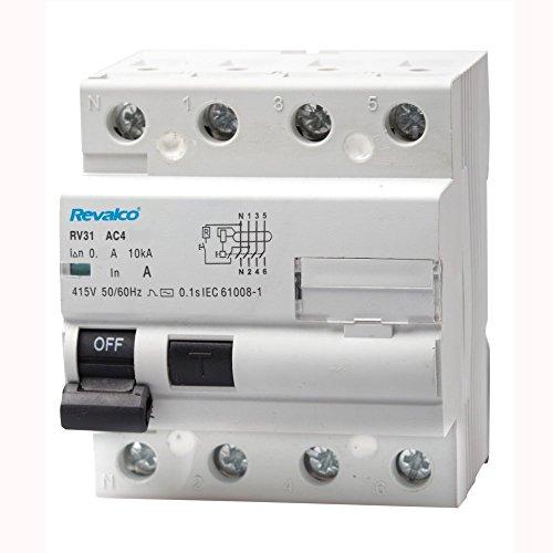 Revalco Interruptor diferencial SUPERINMUNIZADO 4P 40A 30mA 10kA RV31 (Clase A)