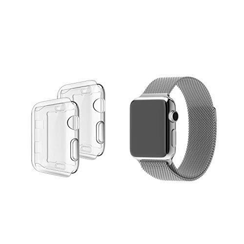 RCPE Store Ultra Hybrid Thin and Slim Designed Protective Compatible for Apple Watch Case for Series 4/5