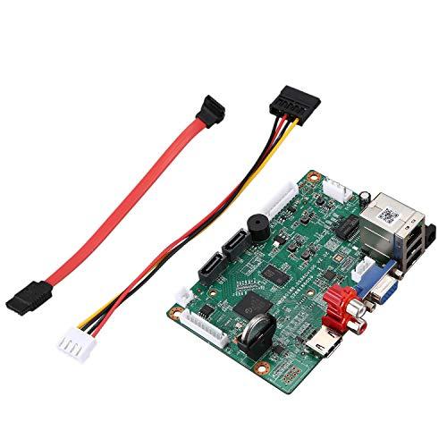 RETYLY 32CHx5MP 25CH Analizadores Inteligentes NVR DVR Red GrabacióN de Video Digital con LíNea SATA CáMara IP ONVIF CMS