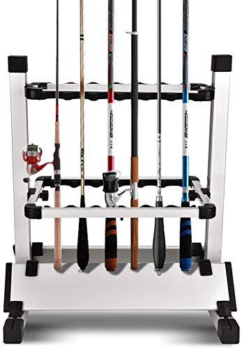 Jamitey 12 porta canna da pesca in lega di alluminio per tutti i tipi di canne e combo
